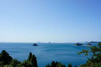 Muzuki Skyline, one of the best walking courses in the Kutsuna Islands
