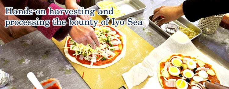 Hands-on harvesting and processing the bounty of Iyo Sea