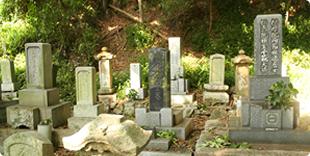 二神家の墓の写真