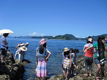 Stroll along Kudako Road and other seasonal fun, with a seafood lunch (Nakajima Island)